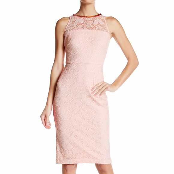 cc2a37f00cb Jessica Simpson light Pink dress sz 8 NEW